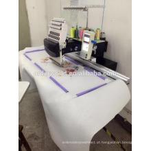 Única máquina principal do bordado, com área de bordado larga extra 120x36cm