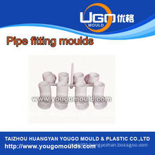 High quality good price plastic mould factory for standard size PPR fitting moulds in taizhou China