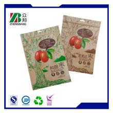Brown Kraftpapier Tasche für Kakaopulver