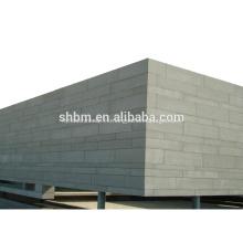 Tablero incombustible del cemento de la fibra del no formaldehído 9m m