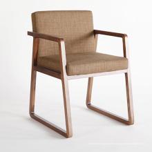Silla de madera sólida de los muebles de madera del diseño nórdico con de alta calidad