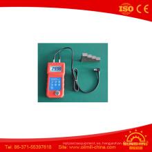 Medidor de espesor ultrasónico de la pantalla grande Um6800 de la buena calidad del conductor de la exactitud de 0.05mm