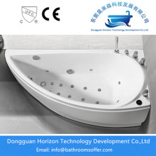 Customized Supplier for Specially Designed Bathtub, Eco-Friendly Harmless Bathtub ,Specially designed massage bathtub Supplier in China Sector Whirlpool Bathtub in White supply to Russian Federation Exporter
