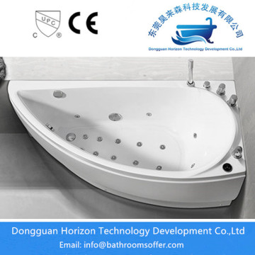 Sector Whirlpool Bathtub in White