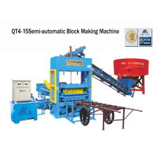 Cement Semi Block Making Machine Brick Making Machine (QT4-25)