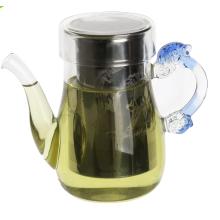 Lead Free Unusual Microwave Oriental Teapot