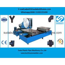 Máquina de soldadura da fusão da extremidade do encaixe de tubulação do HDPE do ISO 630mm / 1000mm do Ce