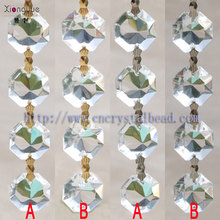 2014 wholesale Crystal Octagon Bead Chain