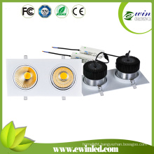 2*40W Square LED Downlight with CE RoHS