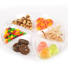 Plastic Disk Disposable Saucer Triangle Dish