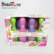 Hot product sport set plastic bowling pin bowling ball