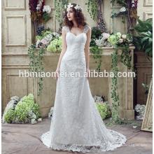 Spitze Chiffon Abendkleider 2016 Langarm Lavendel sexy V-Ausschnitt formale Abendkleider