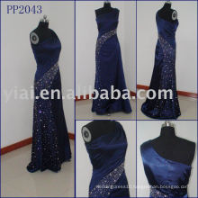 2010 manufacture sexy beaded silk evening dress PP2043