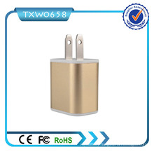 EU Us Plug 3 USB Ports 5V 2.1A Travel Charger