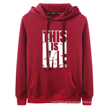 New Style Design Your Own Logo Sublimated Hoodies