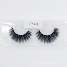 3D Faux Mink Eyelash Silk Synthetic Strip False Eyelashes