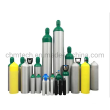 0.4-50L Tped/DOT/GB Aluminum Gas Cylinders for Medical Oxygen/Scuba Diving /CO2 Beveage