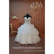 EN ESTRELLA Las correas de espagueti visten el vestido nupcial atractivo SW02 del vestido de boda del vestido de bola