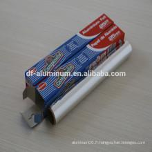 Utiliser largement !!! Feuille d'aluminium pour emballage de condiments