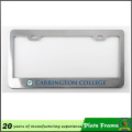 Cadre fait sur commande de plaque d'immatriculation en métal imprimé par logo en aluminium