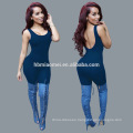 2017 new fashion women bodycon jumpsuit