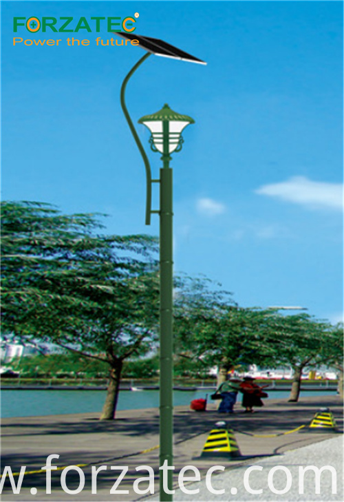 lithium battery solar led light