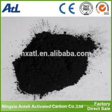 Carbono activo a base de madera para la decoloración del aceite comestible