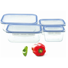 Tempered Glass Storage Box