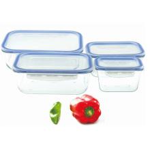 Caixa de armazenamento de vidro temperado