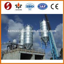 Silo de ciment de type haute qualité Piece type 150 tonnes à vendre avec tous les accessoires