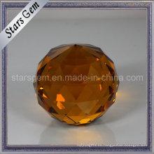 Bola de faceta de cristal de la decoración de la venta de la venta popular popular