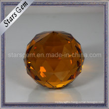 Popular Hot Sale Holiday Decoration Glass Facet Ball