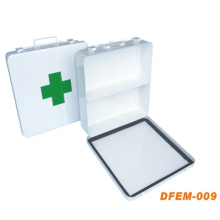 Reusable Medical Empty First Aid Kit Box for Emergency (Metal Box)