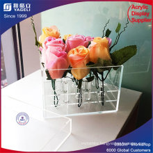 Superior Clear Waterproof Acrylic Flower Box for 9PCS