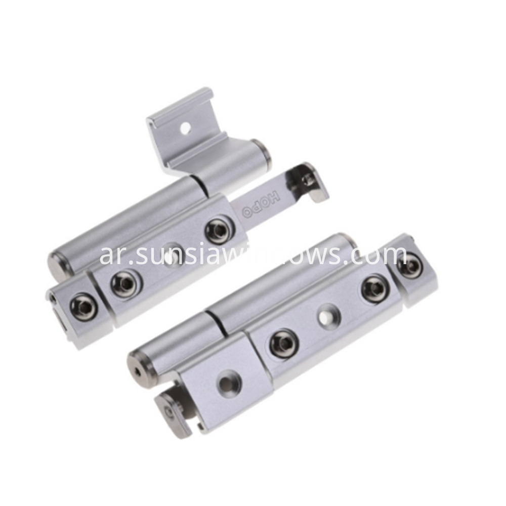 Aluminum hinge for window and door,adjustable handle