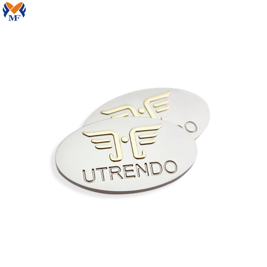 Logo Sticker Metal Plate