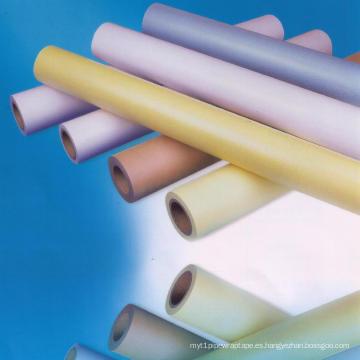 Papel de silicona para papel de un solo lado