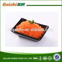 Masago-black para cobertura de sushi