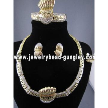 комплект ювелирных изделий Оптовая африканского костюма