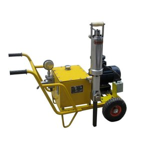 Hydraulic fracturing rock stone concrete splitter machine