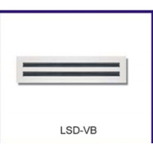 orificios de difusor/hvac de ventilación linear de la ranura