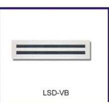 diffuseur/CVC d'aération linéaire de fente