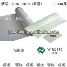 Chine Tissu de kavlar enduit par caoutchouc de silicium de VEIK, couverture de soudure, résistance à la chaleur de tissu de silicium épaisseur de 0.15mm-2.00mm