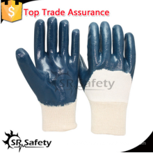 SRSAFETY working nitrile gloves/heavy duty industrial/safety gloves/made in China