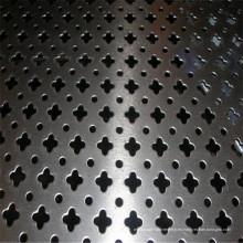 Fabricante galvanizado de malla metálica perforada