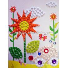 Kinder DIY Mosaik Sticker für Sonnenblume