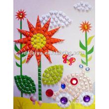 Дети DIY стикер Мозаика для подсолнуха