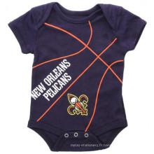 Jersey de basket pour bébé imprimé