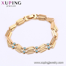 75188 Xuping персонализированные шаблон магнитный сглаза очарование цепи браслет предоставление бесплатного образца