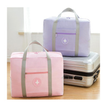 large capacity custom luggage travel bags foldable Clothes Organizer Carry Storage Bag shopping shoulder bag for men &women